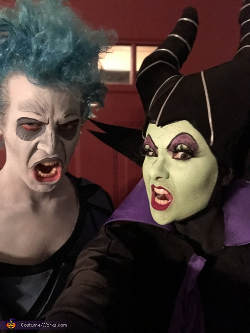 Thanks for celebrating this spooky season with us!, Maleficent & Hades Costume