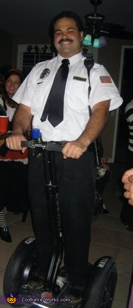 Mall Cop on the segway Costume