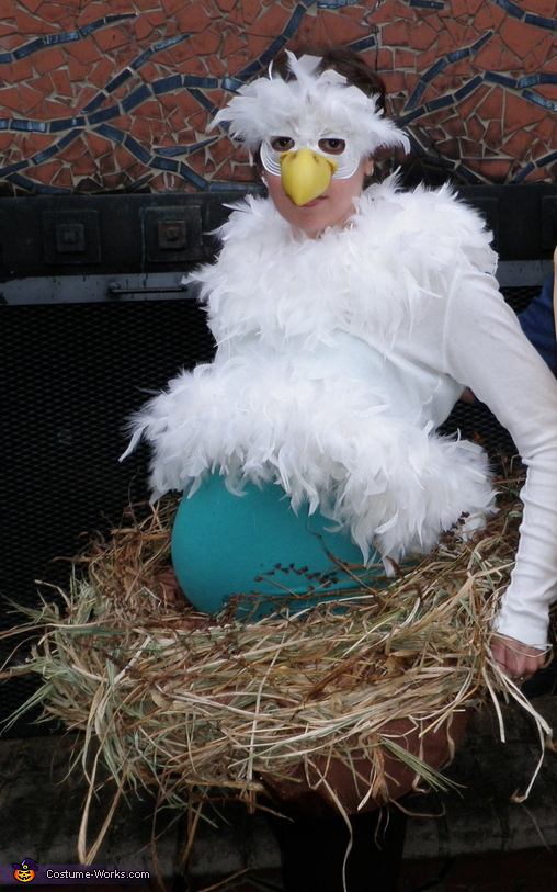 Mama Bird Sitting on Her Nest Costume