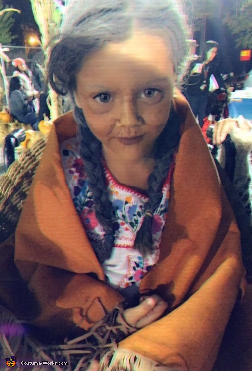 Mama Coco Homemade Costume