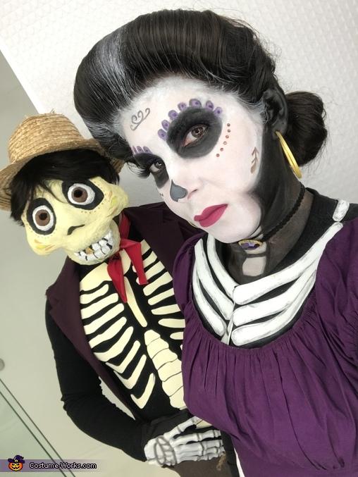 Mama Imelda and Hector Rivera from Coco Costume