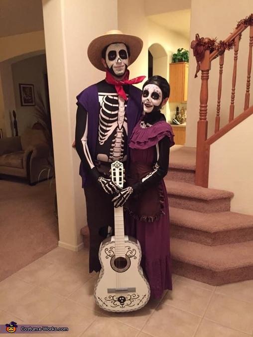 Mama Imelda and Papa Hector Costume