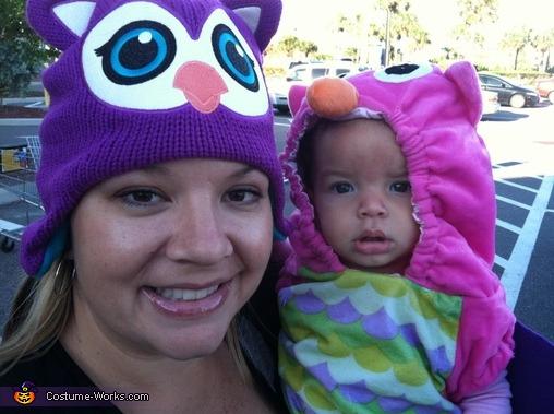 Mama Owl and Owlet Costume