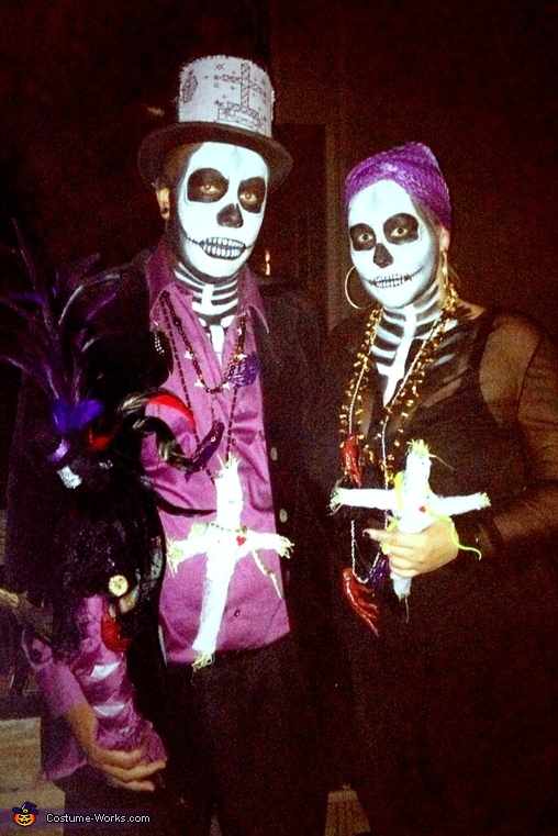 Maman Brigitte and Baron Samedi Couple Costume