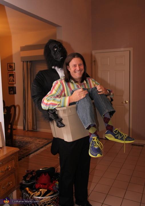 Man in Crate with Gorilla - Illusion Costume