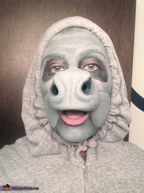 Manatee Homemade Costume