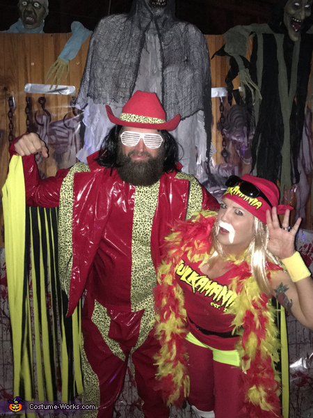 Mancho Man and Hulk Hogan Costume