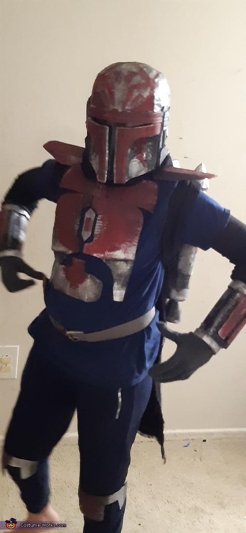 Mandalorian Homemade Costume