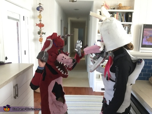 Facing, Mangle and Foxy FNAF Costume
