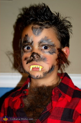 YIKES he has some FIERCE FANGS!, Werewolf Costume