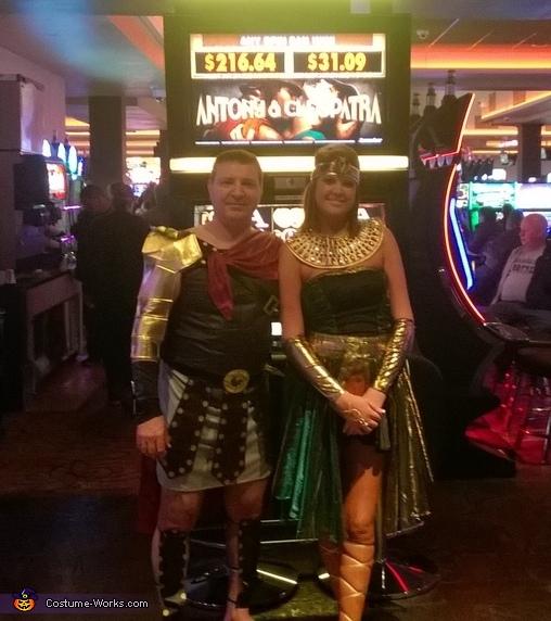 Marcus Antonius & Cleopatra Costume