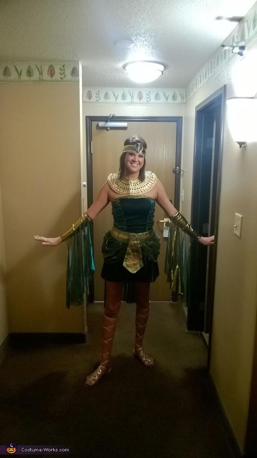 Marcus Antonius & Cleopatra Homemade Costume