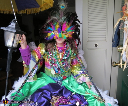 Mardi Gras Float Costume