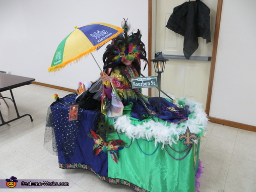 Mardi Gras float, Mardi Gras Float Costume