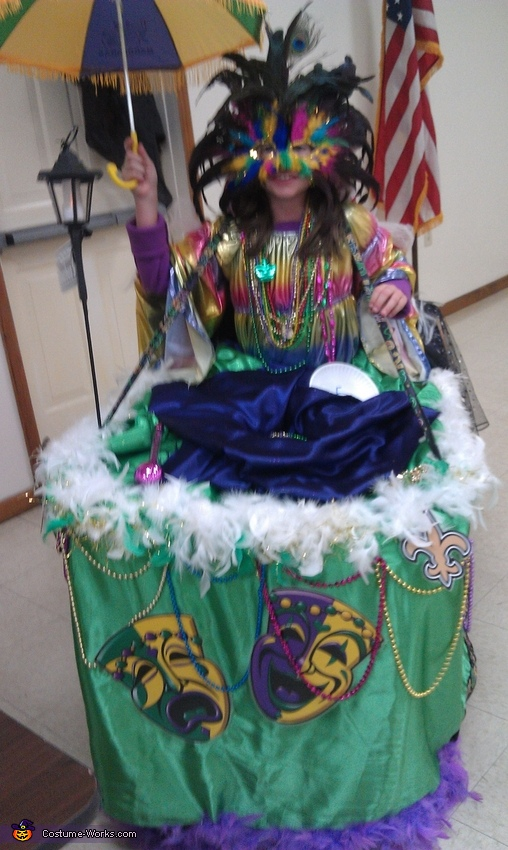 front, Mardi Gras Float Costume