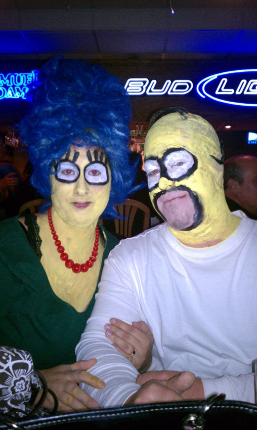 Marge and Homer - Homemade costumes for couples