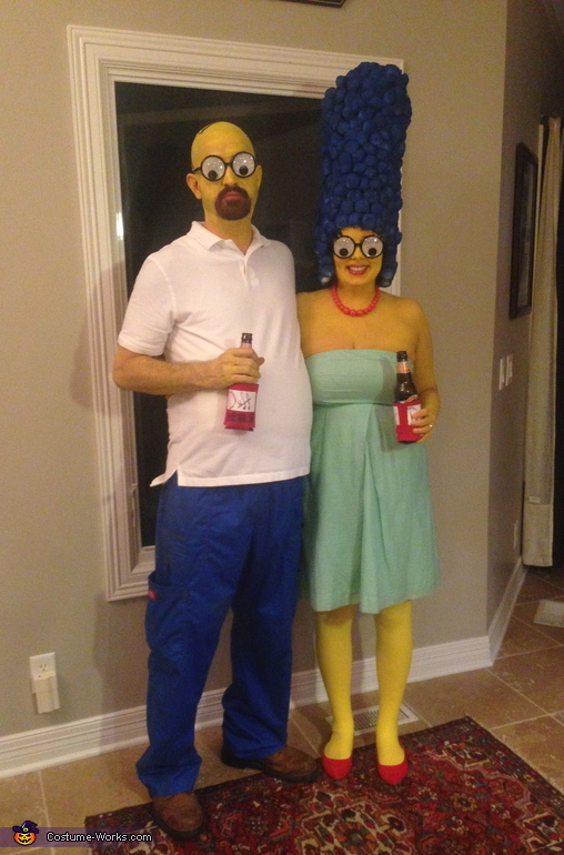 Marge & Homer Costume