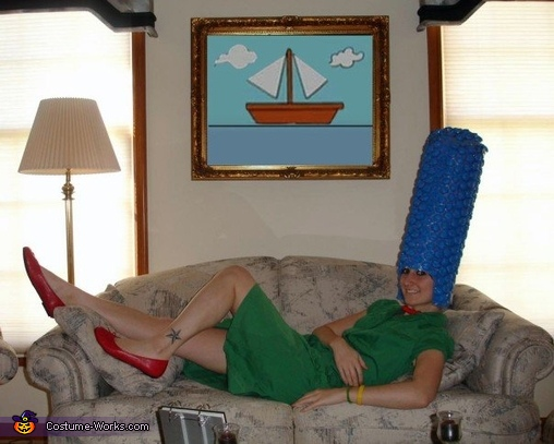 DIY Marge Simpson Costume