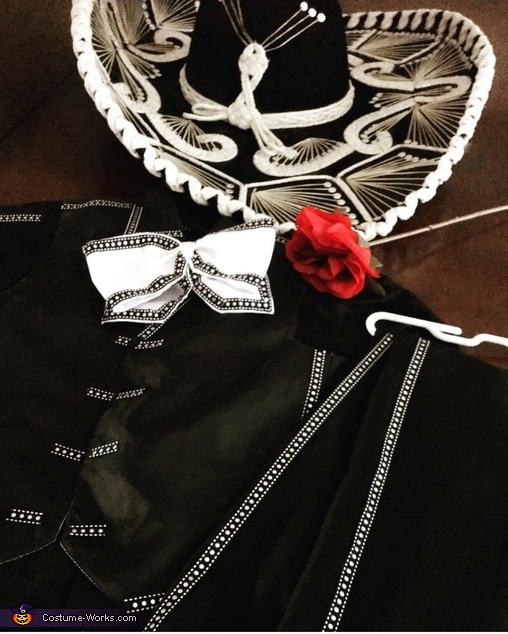 Instagram sneak peek, Mariachi Skeleton Costume
