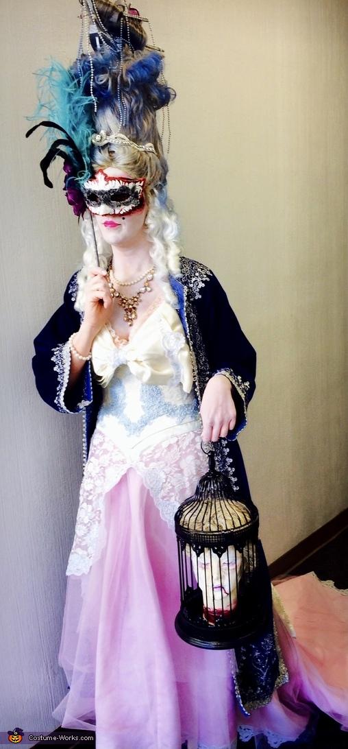 Marie-Antoinette Homemade Costume