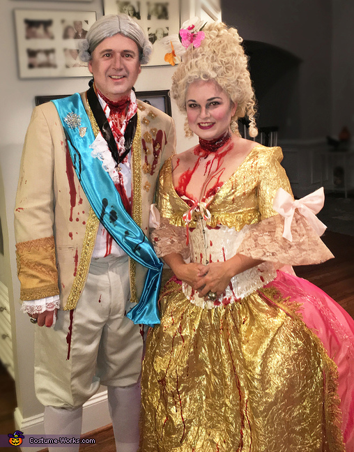 Marie Antionette & Louis XVI after the Guillotine Costume