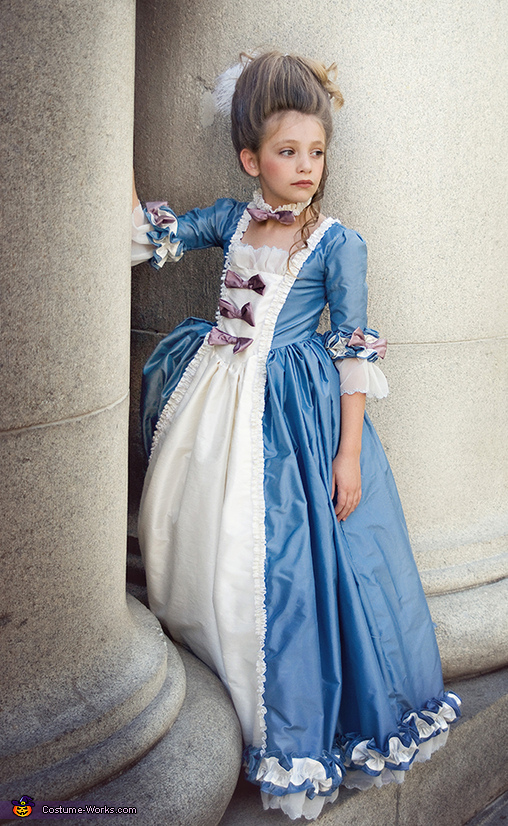 Marie Antoinette - Homemade costumes for girls