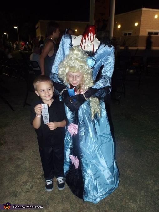 full costume 2, Marie Antoinette Costume