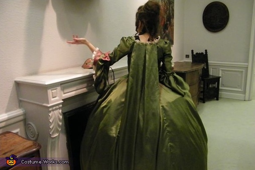 Marie Antoinette Homemade Costume
