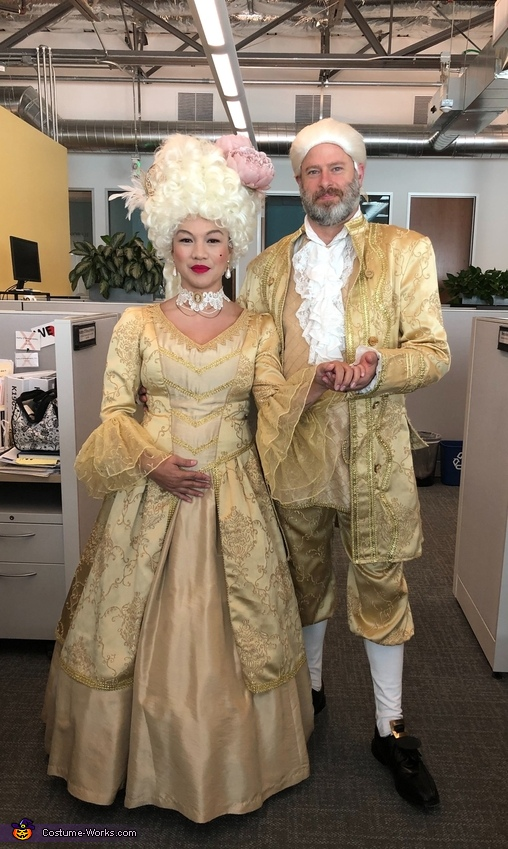 Marie Antoinette and King Louie XVI of France Costume