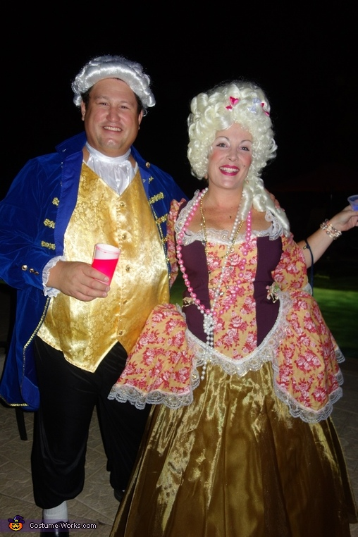 Marie Antoinette and Louis XVI Costume