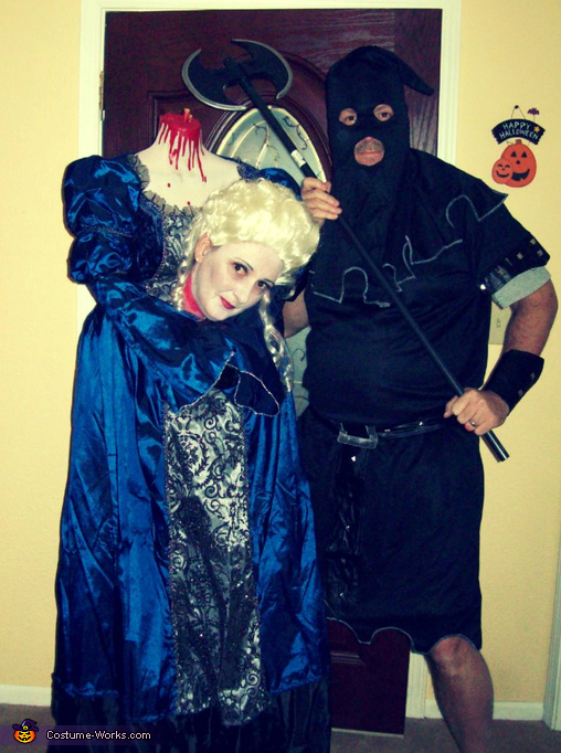 Marie Antoinette & the Executioner Couple Costume