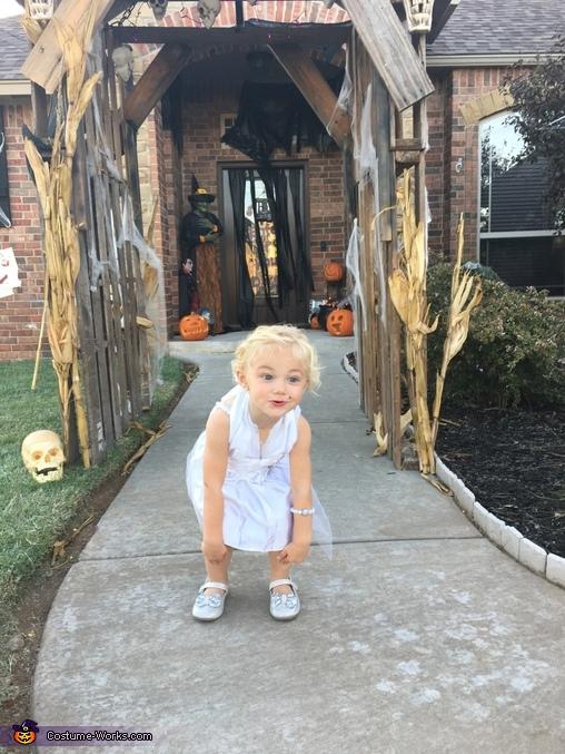 Sweetheart on halloween, Marilyn Costume