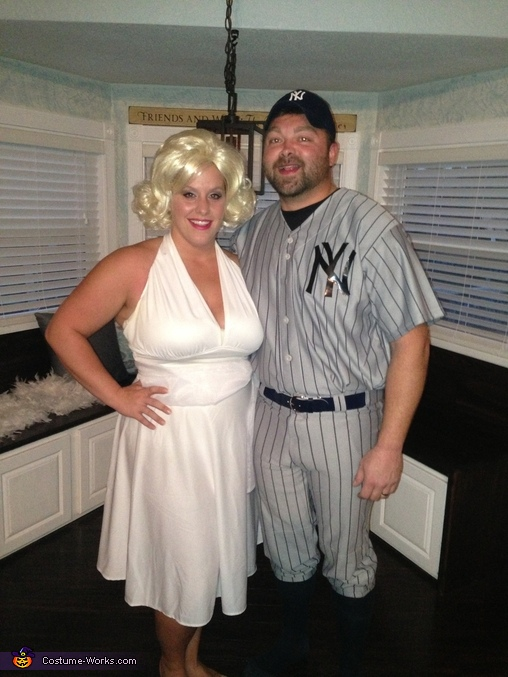 Marilyn and Joe DiMaggio , Marilyn and Joe Couples Costume
