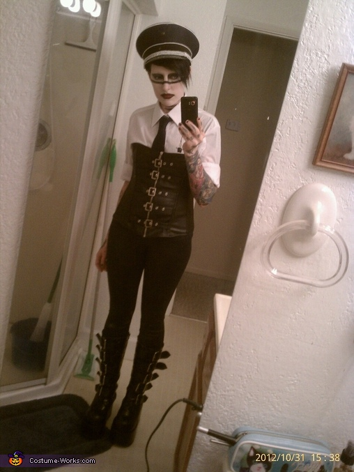 Marilyn Manson Halloween Costume
