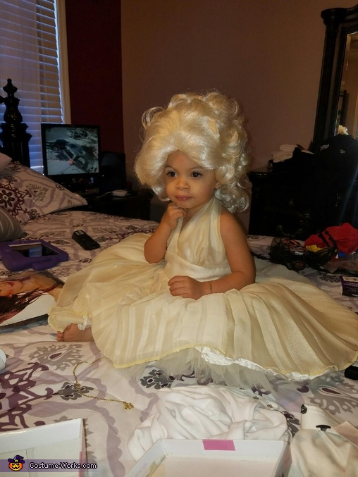 Marilyn Monroe Homemade Costume