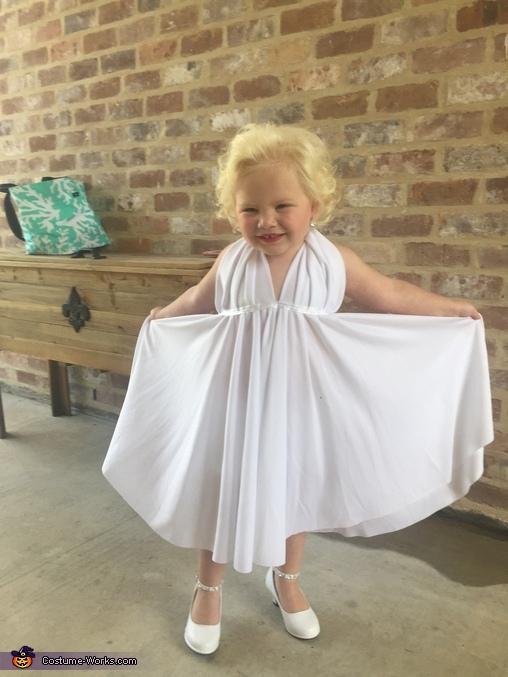 Marilyn Monroe Baby Homemade Costume  sc 1 st  Costume Works & Marilyn Monroe Baby Halloween Costume - Photo 3/3