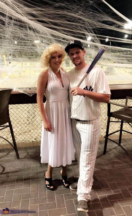 Marilyn Monroe & DiMaggio Homemade Costume