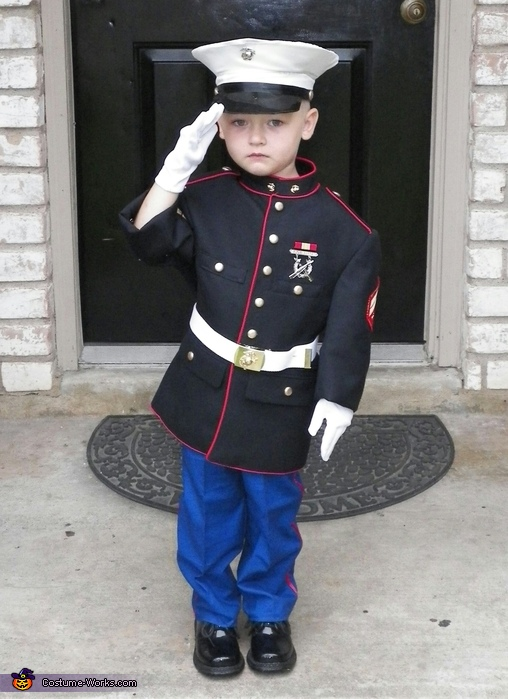 Marine Cpl. Costume