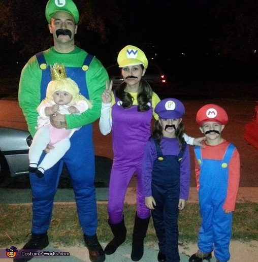 Mario and Friends Costume