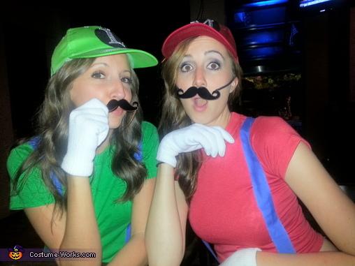 Mario And Luigi Costume Creative Diy Costumes