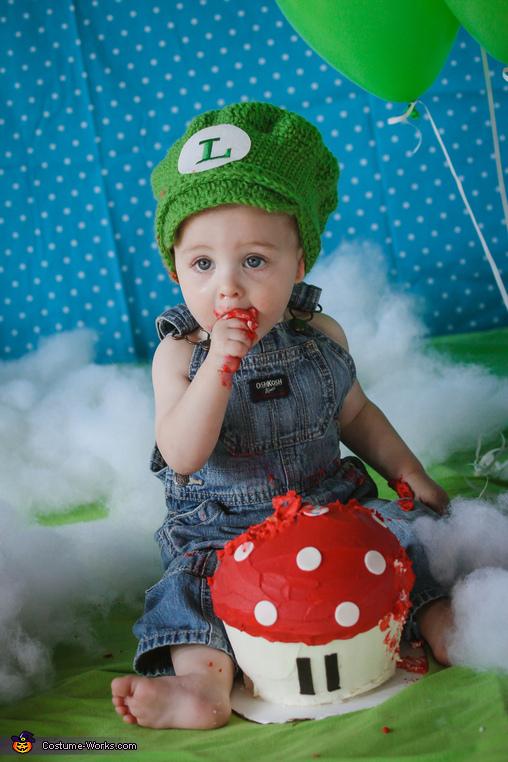 Mario and Luigi Homemade Costume