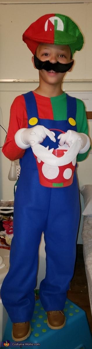 Mario and Luigi The Gamer Costume