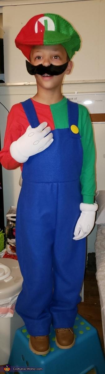 Mario and Luigi The Gamer Homemade Costume