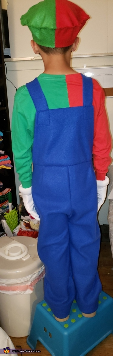 Mario and Luigi The Gamer Homemade Costume