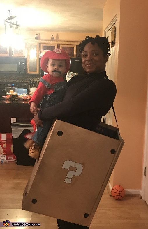 Mario and the Prize Box Costume