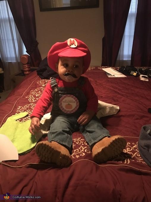 It's me, Mario!, Mario and the Prize Box Costume