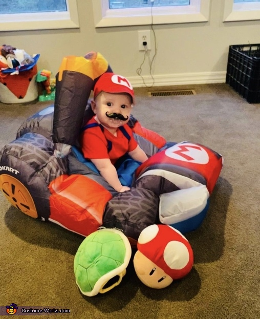 Game time!, Mario and Yoshi Costume