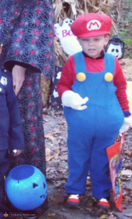 Mario Boy Costume