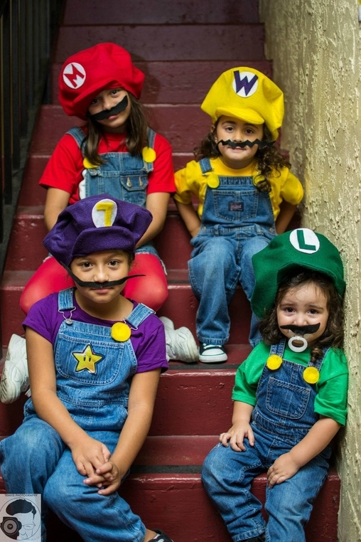 Mario Bros Sisters Halloween Costumes Coolest Diy Costumes