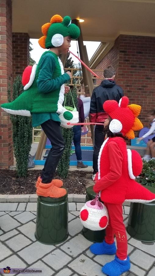 Yoshi battle, Mario Family Costume